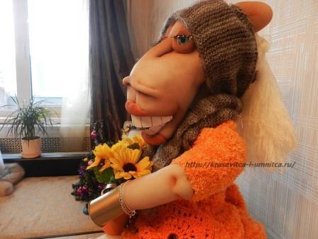 чулочная кукла Лошадка