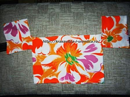 блуза для текстильной куклы