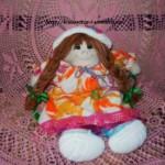 Текстильная кукла Счастьюшка