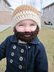 шапочка с бородой