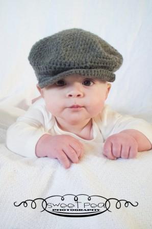 вязаная кепочка для ребенка