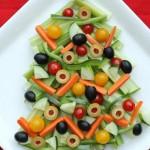 Овощные закуски к новогоднему столу