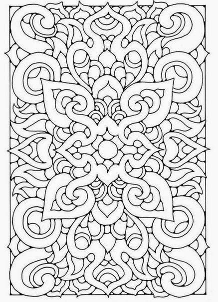 узор для точечной росписи