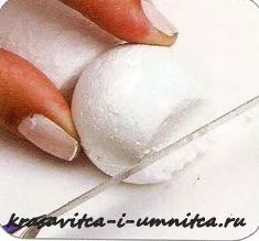 шарик из пенопласта