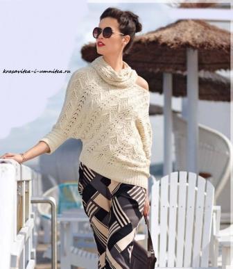 asimmetrichnyj-pulover-so-snudom