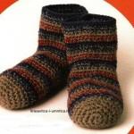 Носки и тапки из пряжи