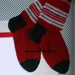 Как связать носки спицами мастер-класс